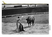 Bullfighter And The Lady Homage 1951 Bullfight Nogales Sonora Mexico Carry-all Pouch