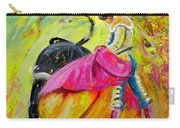 Bullfighting In Neon Light 01 Carry-all Pouch