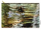 Bullfrog In Colorful Pond Carry-all Pouch