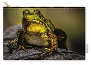 Bullfrog Watching Carry-all Pouch
