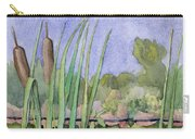 Bullrushes Carry-all Pouch