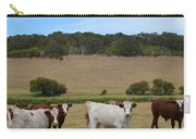 Bulls And Cow Carry-all Pouch
