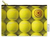 Bullseye Tennis Balls Carry-all Pouch