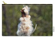 Bulrush Seed Head Disintegrating Carry-all Pouch
