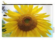 Bumble Bee And Sunflower Carry-all Pouch