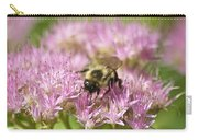 Bumble Bee On A Century Plant Carry-all Pouch