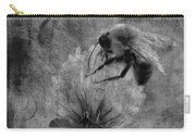 Bumble Bee Post Card 2 Bw Carry-all Pouch