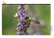 Bumble On Sage Carry-all Pouch