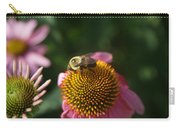 bumblebee and Echinacea Carry-all Pouch