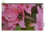 Bumblebee In Pink Carry-all Pouch