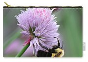 Bumblebee On Clover Carry-all Pouch