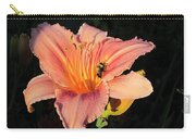 Bumblebee On Daylily Carry-all Pouch