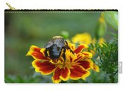 Bumblebee On Marigold Carry-all Pouch