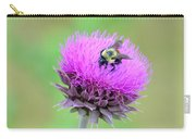 Bumblebee On Thistle 2013 Carry-all Pouch