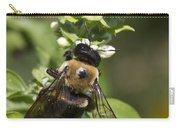 Bumblebees And Basil Carry-all Pouch