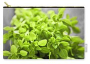 Bunch Of Fresh Oregano Carry-all Pouch