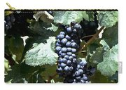 Bunch Of Grapes Carry-all Pouch by Heiko Koehrer-Wagner