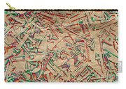 Bunch Of Screws 5 - Digital Effect  Carry-all Pouch by Debbie Portwood