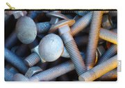Bunch Of Screws Carry-all Pouch by Carlos Caetano