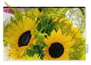 Bunch Of Sunflowers Carry-all Pouch