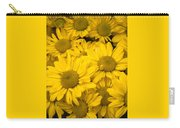 Bunch Of Yellow Daisies Carry-all Pouch