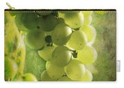 Bunch Of Yellow Grapes Carry-all Pouch