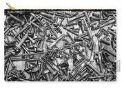 Bunch Screws 2 - Digital Effect Carry-all Pouch by Debbie Portwood