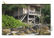 Bungalow In Koh Rong Island Beach In Cambodia Carry-all Pouch