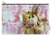 Bunny Rose Carry-all Pouch