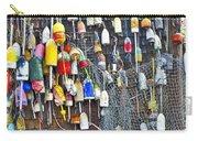 Buoys On Wall - Cape Neddick - Maine Carry-all Pouch