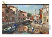 Burano Canal Venice Carry-all Pouch