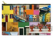 Burano Italy Collage Carry-all Pouch