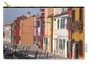 Burano Venice Italy Carry-all Pouch