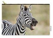 Burchells Zebra Equus Quagga Burchellii Carry-all Pouch