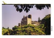 Burg Katze Castle On The Rhine Carry-all Pouch