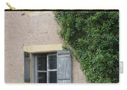 Wood Shutters With Vine Carry-all Pouch