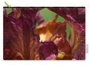 Burgundy Blossom Carry-all Pouch