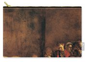 Burial Of St Lucy Carry-all Pouch by Caravaggio