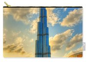 Burj Khalifa Carry-all Pouch by Syed Aqueel