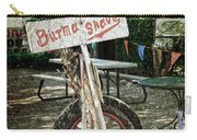 Burma Shave Sign Carry-all Pouch