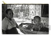 Burmese Grandmother And Grandchild Carry-all Pouch by RicardMN Photography