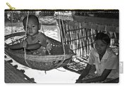Burmese Mother And Son Carry-all Pouch by RicardMN Photography