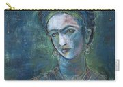 Burn It Blue Frida Carry-all Pouch