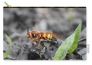 Burn Pile Bee Carry-all Pouch
