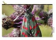 Burnett Moth Carry-all Pouch