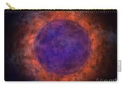 Burning Blue Sun Carry-all Pouch