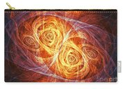 Burning Butterfly Carry-all Pouch