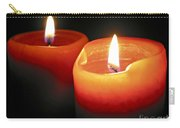 Burning Candles Carry-all Pouch by Elena Elisseeva