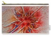 Burning Passion Of Love Carry-all Pouch by Deborah Benoit