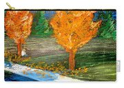 Burning Trees Carry-all Pouch